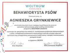 Wojtków szkolenia - behawiorysta psów