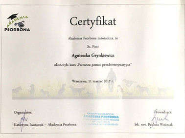 2017-03 Pierwsza pomoc przedweterynaryjn