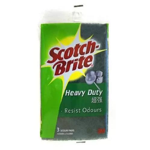 3M Scotch-Brite SBET 3M Extra Heavy Duty Scourer 3pc/Pack