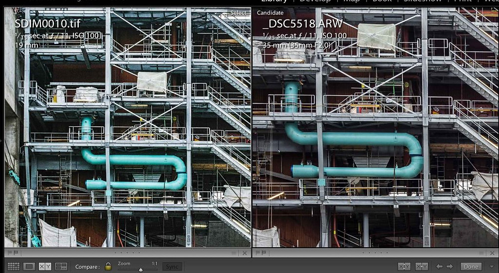 Detail, Recycling and Energy Recovery Facility, Leeds   Sigma - Sony   www.richardjwalls.com