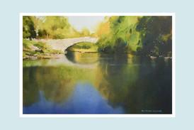 Reflections Under Stainforth Bridge