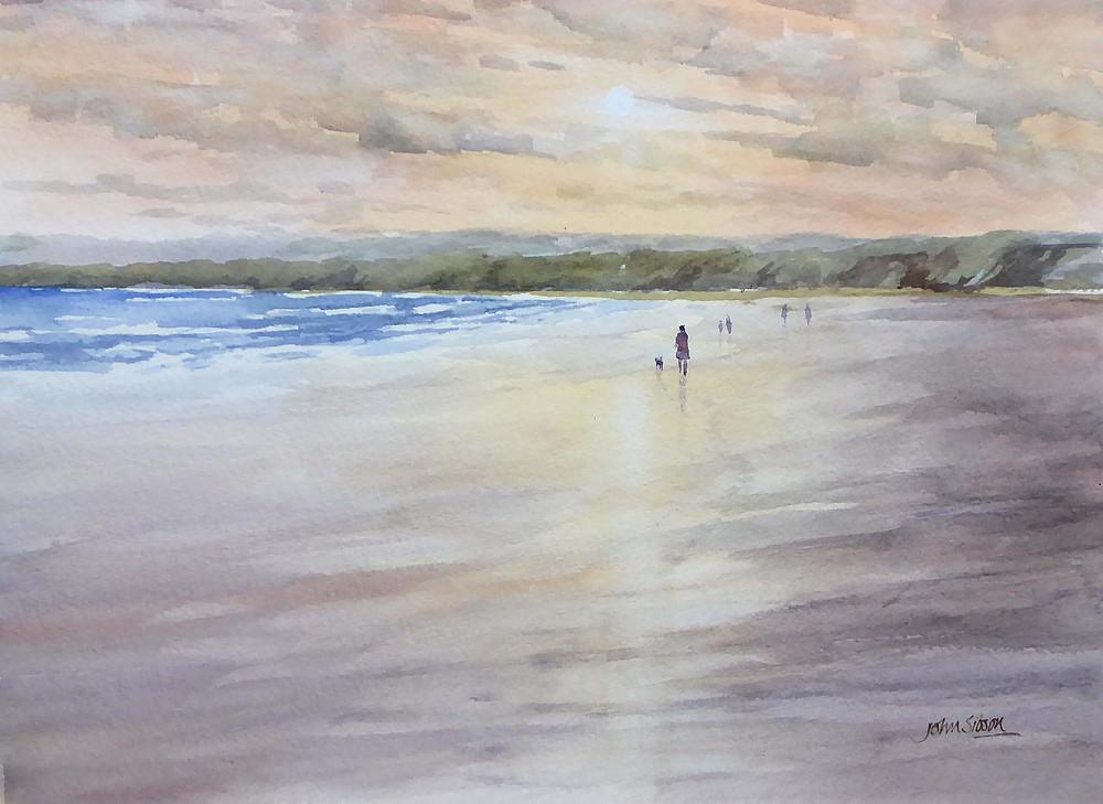 on filey beach muker
