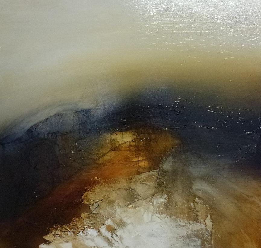 Autumn Moor...Sacred Land...60x60cms...£