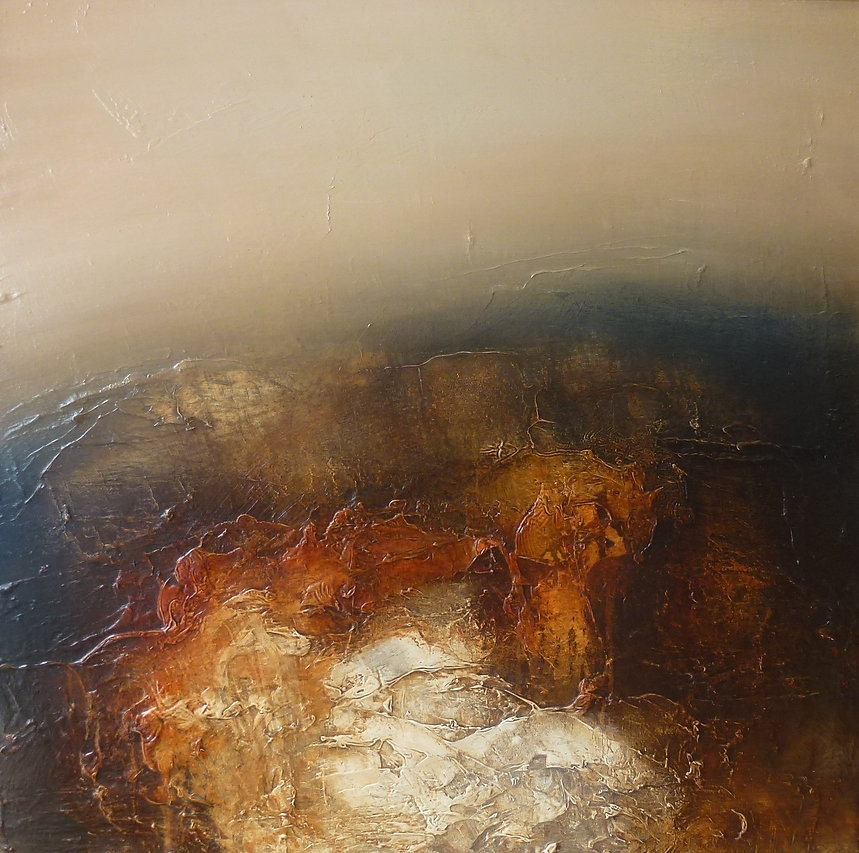 Red Earth..60x60....oil painting...£950.