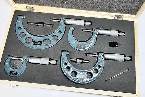 Kit de 4 micrometres