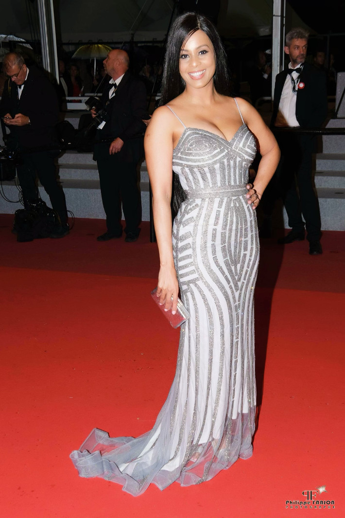 Actress Carolina Catalino attended to Cannes Film Festival Red Carpet