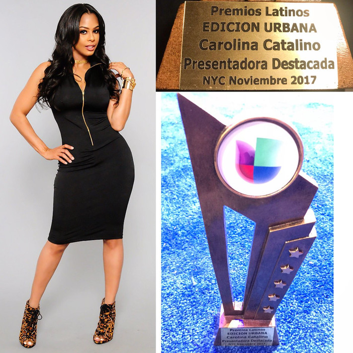 "Carolina Catalino Wins ""TV Host"" Of the Year"""