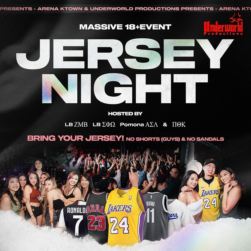 JERSEY NIGHT | 18+