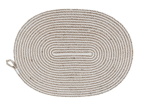 Oversized Oval Placemat Table Mat