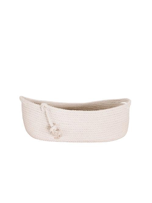 Oval Rope Bread Basket