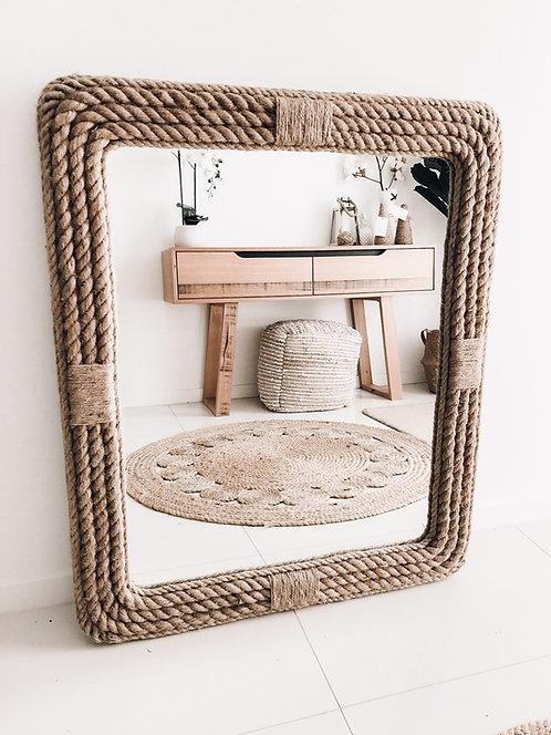 Coastline Rope Mirror