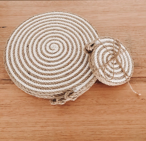 Placemat & Coasters Gift Set