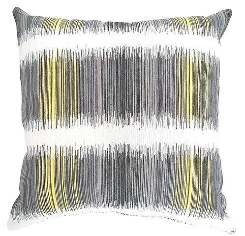 Black & Yellow Cushion Cover