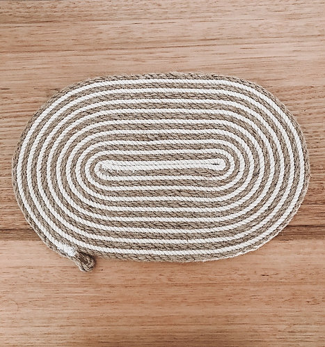 Dream of Lines OVAL Placemat