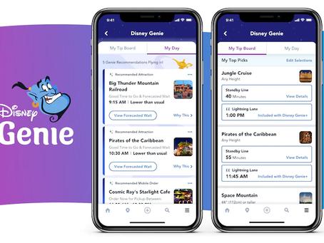 Disney Genie Service - All the Details