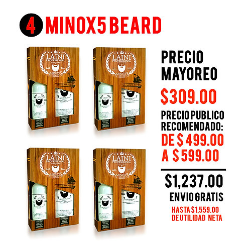 MAYOREO 4 KIT MINOX5 BEARD
