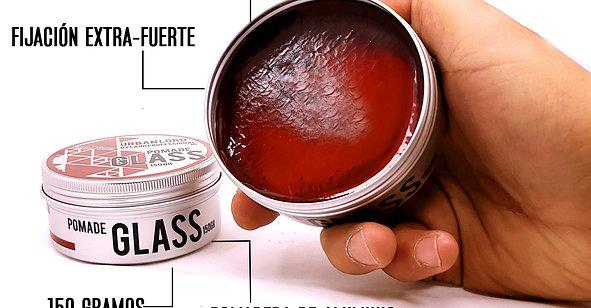 POMADA GLASS TERMINADO BRILLO ALTA FIJACIÓN 150 GR