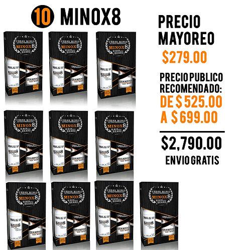 PAQ MAYOREO 10 KIT MINOX8