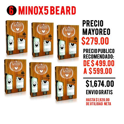 PAQ MAYOREO 6 KIT MINOX5 BEAR