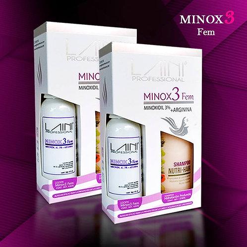 2 KIT MINOX3 FEM ENVÍO GRATIS