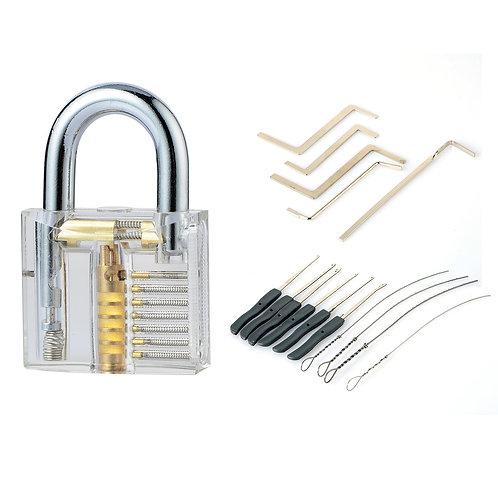Lockpicks and lock