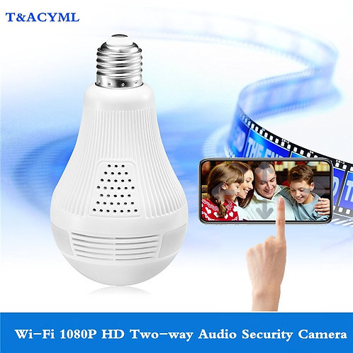 High Definition Security Camera Lightbulb