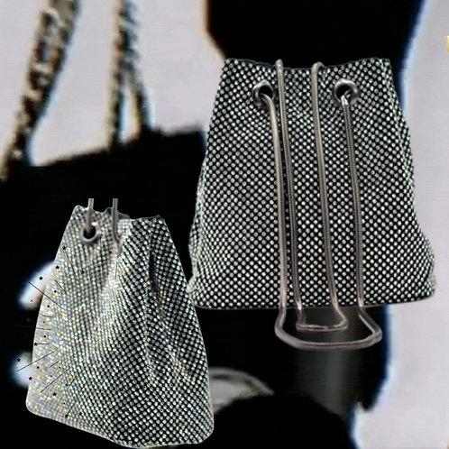 All That Sparkle Handbag - Black