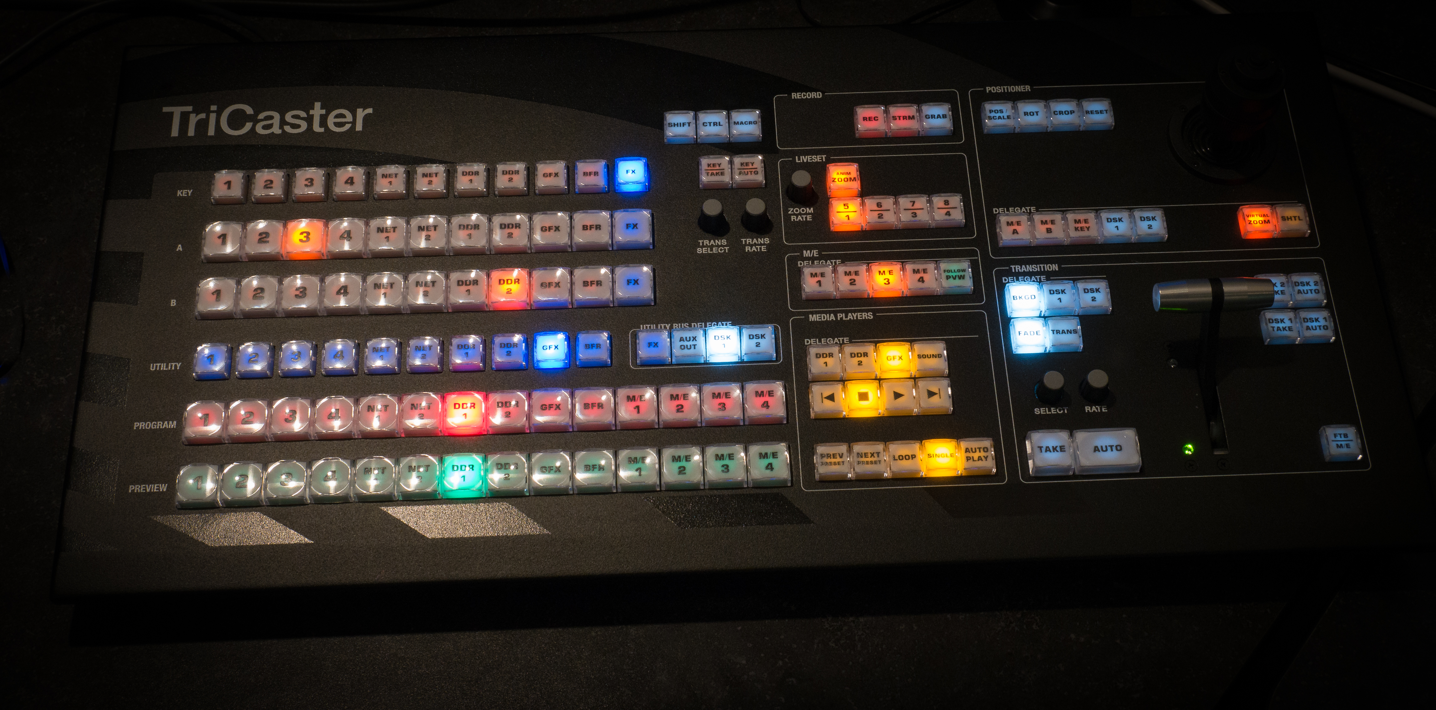 TriCaster Switcher