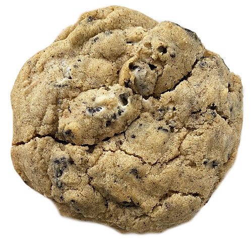 1/2 Pound Cookies and Cream Cookie