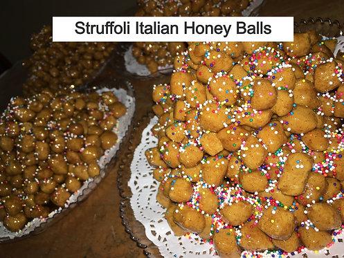 Struffoli Italian Honey Balls