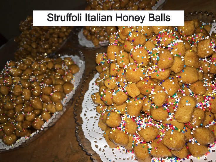 Struffoli Italian Honey Balls