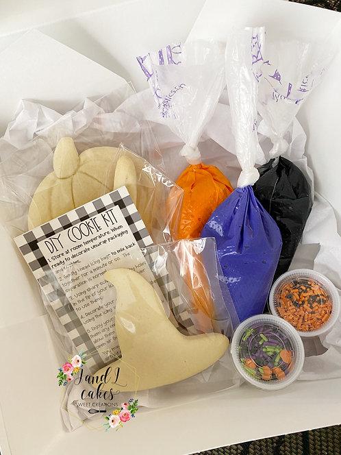 Halloween DIY Cookie kit (6 Cookies)
