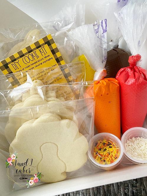 Thanksgiving  DIY Cookie kit (12 Cookies)