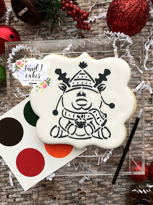 Christmas Paint Your Own Cookie (1 - Cookie)
