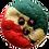 Thumbnail: 1/2 Pound Rainbow Cookie