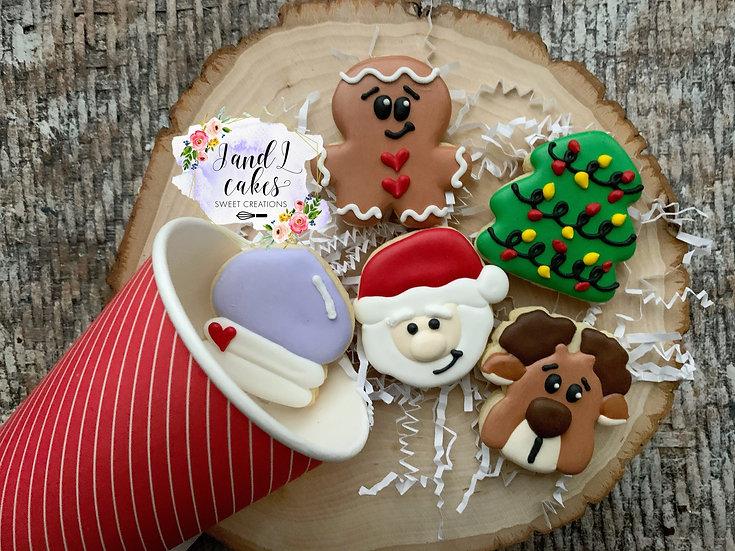 Mini Cookies in Coffee cup gift set