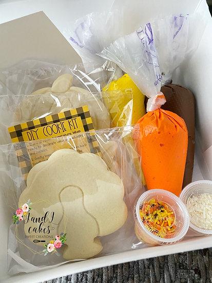 Thanksgiving  DIY Cookie kit (6 Cookies)