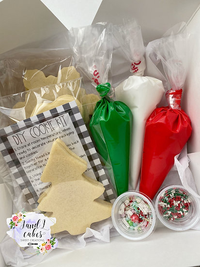 Christmas DIY Kit 6/12 Cookies
