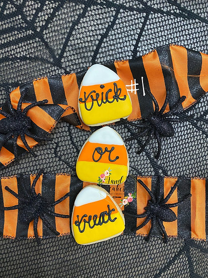 Halloween Decorated Cookie Gift Sets