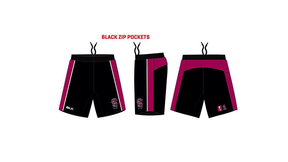 Bulls Ladies Tek VI 8 Gym Shorts