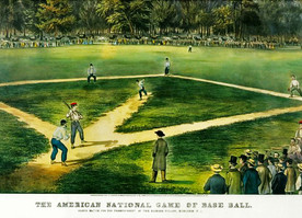 Stuff I learned about...19th century baseball!
