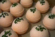 Sweet Citrus CBD bath bombs