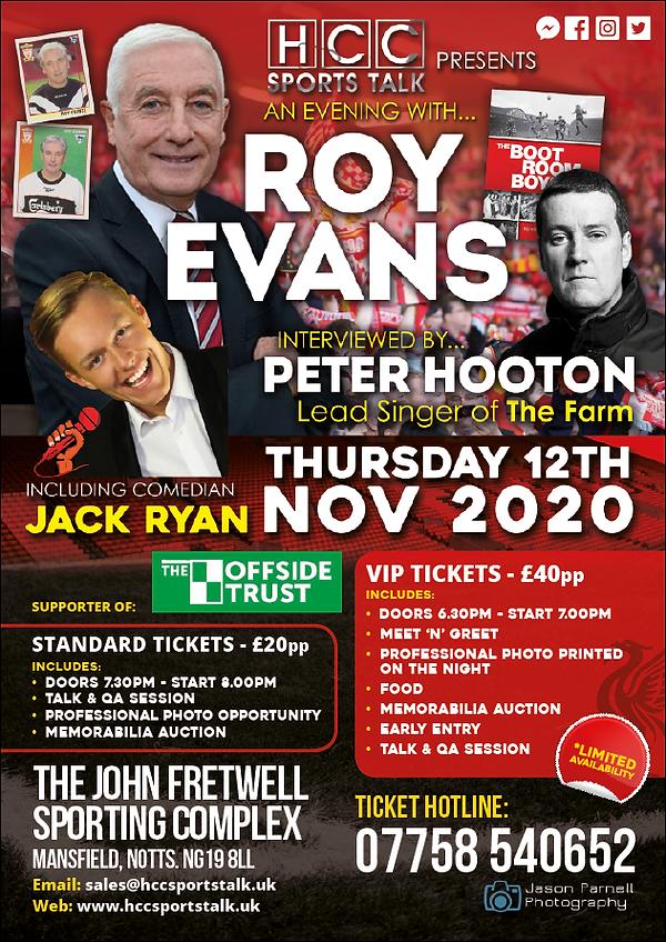 Roy Evans Event