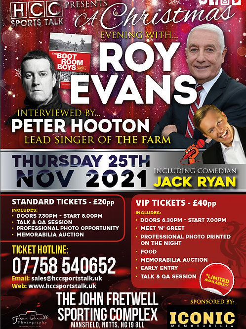 CHRISTMAS WITH ROY EVANS & PETER HOOTON
