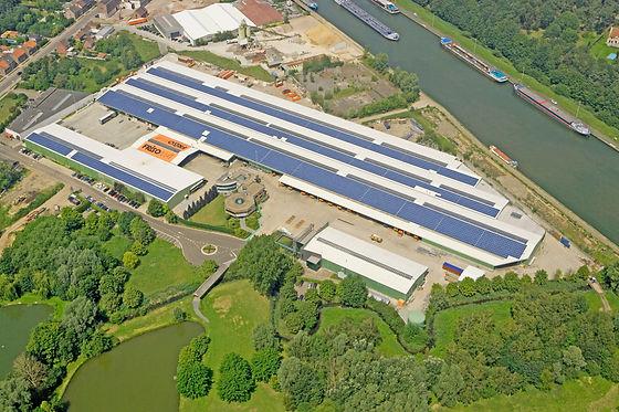 Industriele prefab gebouwen hangars lood