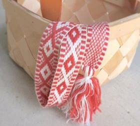 北欧 フィンランドの 伝統手芸をならう会1 ピルタナウハ織り