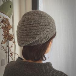リバーシブルスパイラルベレー帽