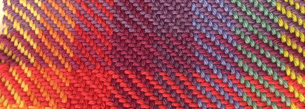 研究科 綾織色糸効果