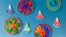 『パラグアイの伝統刺繍 NANDUTI(ニャンドゥティ)をならう会』2019年9月~12月