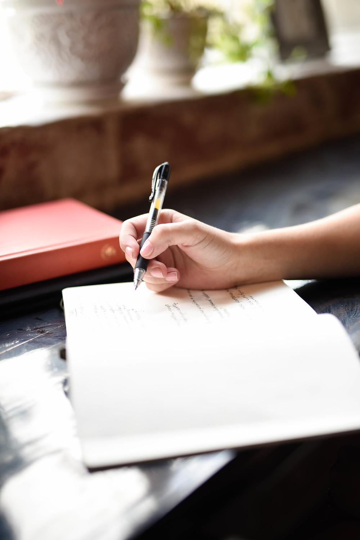 Schreibmeditation und Übung für zuhause